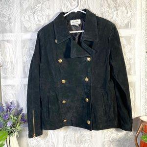 Linea women's suede jacket